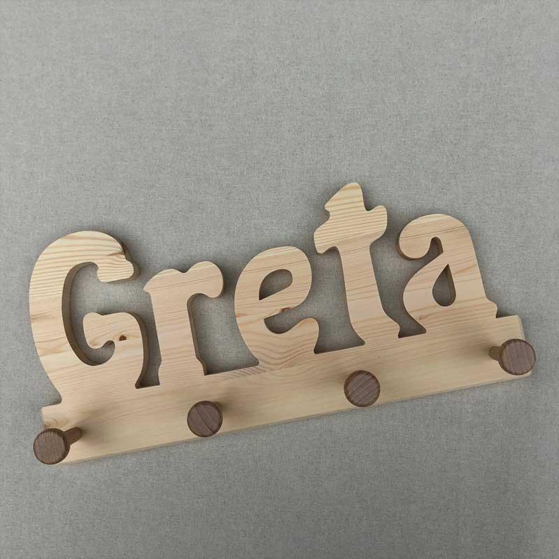 Holzgarderobe Greta