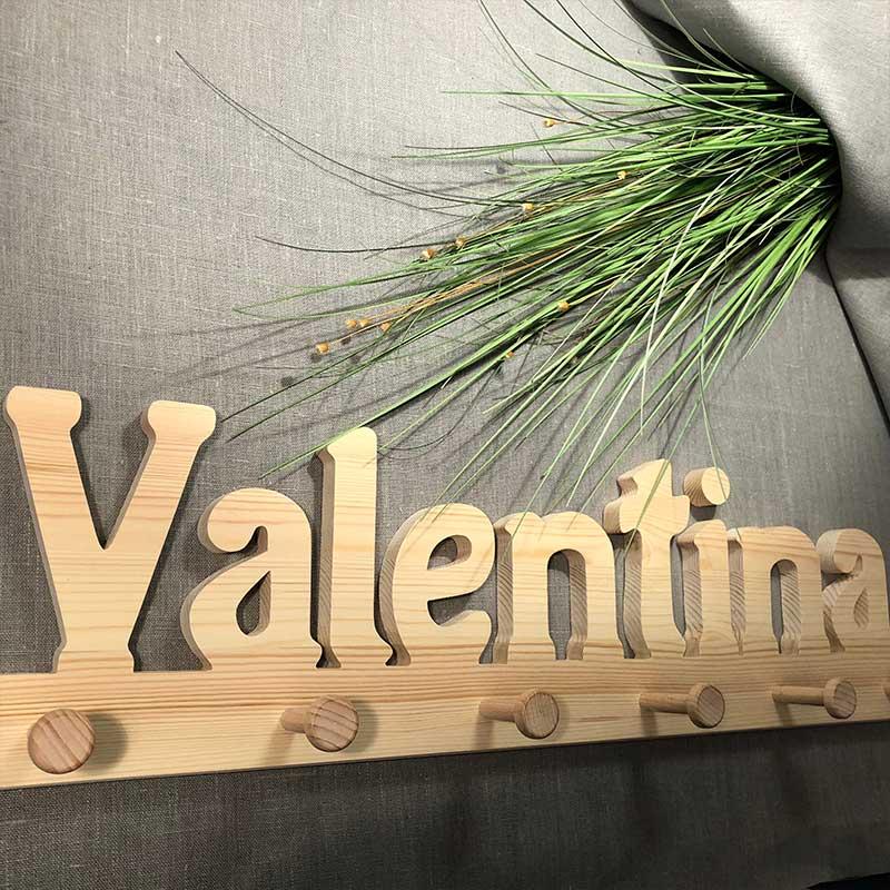Holzgarderobe Valentina