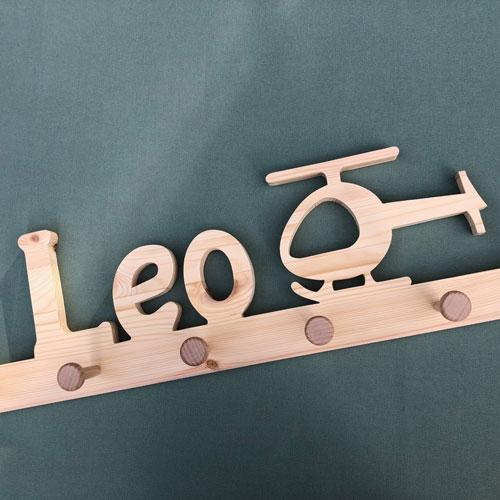 Holzgarderobe Leo