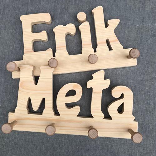 Holzgarderobe Erik / Meta